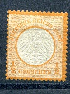 Germany #3 Mint   scarce !  Cat $950 - Lakeshore Philatelics