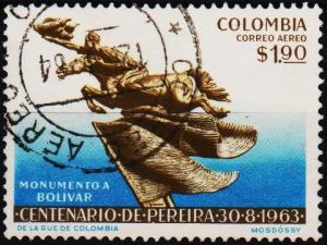 Colombia. 1963 1p90 S.G.1142 Fine Used