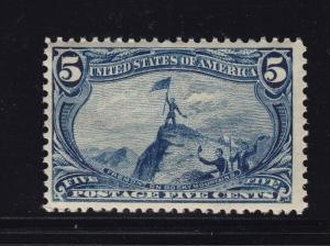 288 VF OG mint never hinged nice color cv $ 275 ! see pic !