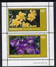 Eynhallow 1981 Flowers #04 perf  set of 2 values (40p &am...