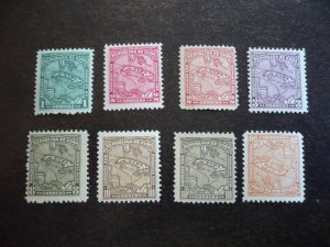 Stamps - Cuba - Scott# 253-256, 258-261 - Mint Hinged Partial Set of 8 Stamps