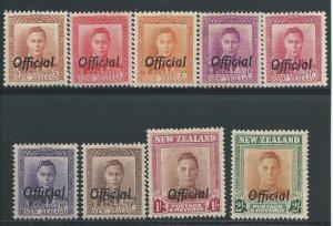 New Zealand O92-9 LH