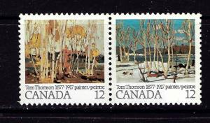 Canada 734a NH 1977 Pair