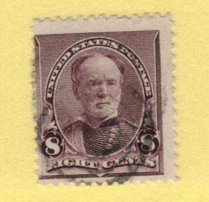 United States (U.S.) Stamp Scott #225, Used - Free U.S. Shipping, Free Worldw...