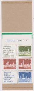 Canada - #Bk96b - 1988 Green Tab Booklet with Counter