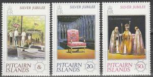 Pitcairn Is #160-62  MNH   (S9529)