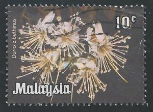 Malaysia #194 10c Flowers - Durio Zibethinus