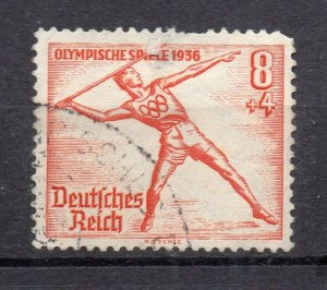 Germany 1936 Olympics Early Issue Fine Used 8pf. NW-105060