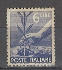 COLLECTION LOT # 4964 ITALY #472A MNH 1947