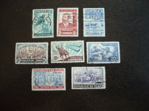 Stamps - Cuba - Scott# 423-430 -Used  Set of 8 Stamps