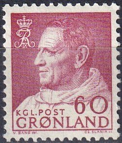 Greenland #60 MNH  (K2739)