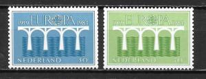 Netherlands 657a-58a 1984 Europa set MNH