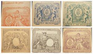 O) 1894 SPAIN REVENUE, TAX SEAL,MANIFIESTO, FACTURAS SEGUNDAS DE EXPORTACION, OF