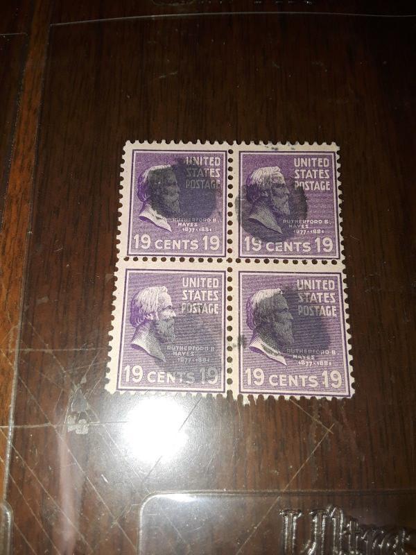 1938 USA Used Presidents blocks