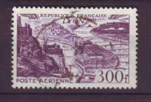 J19366 Jlstamps 1949-50 france part of set used #c25 airmail views