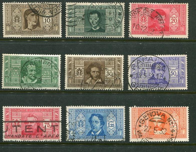 Italy #268-79 (no 278) Used Accepting Best Offer