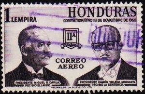 Honduras. 1961 1L S.G.617 Fine Used