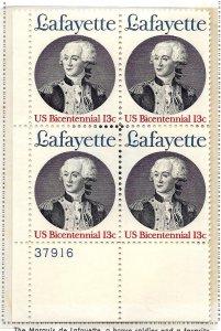 1716 Mint,OG,NH... Plate Block of 4... SCV $1.10