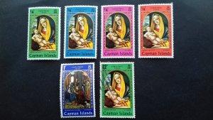 Cayman Islands 1969 Christmas - Paintings Unused