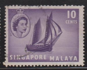 Singapore Sc#34 Used