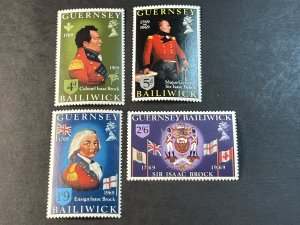 GUERNSEY # 24-27-MINT NEVER/HINGED--COMPLETE SET--1969