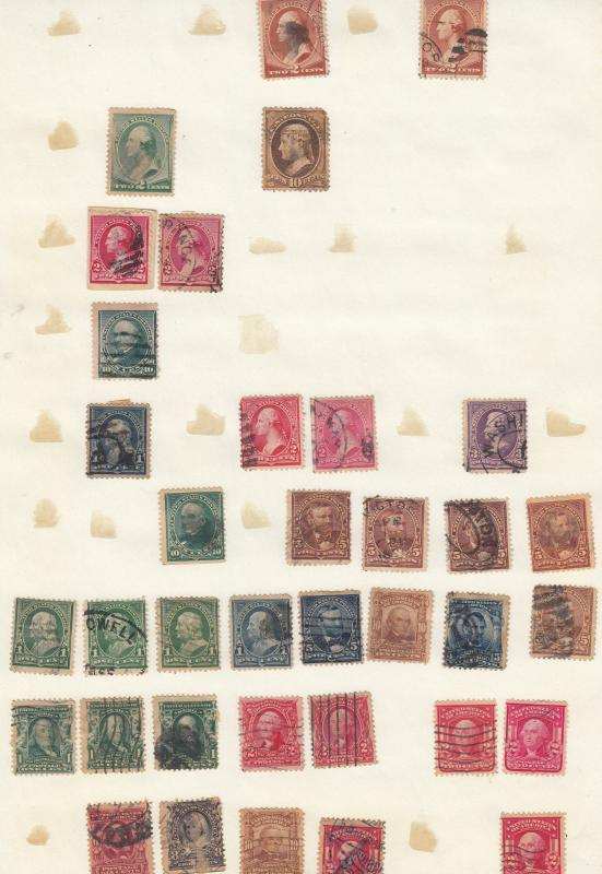 USA - Small stamp lot # 1 - (1935)