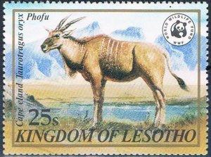 Lesotho 353 MNH Cape Eland 1982 (MV0090)