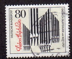 Germany 1507 - Used - Organ Pipes (cv $0.45)