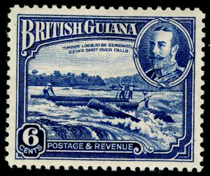 BRITISH GUIANA SG292, 6c dp ultramarine, M MINT.