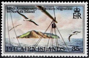 Pitcairn Islands Scott 204 MH* ship stamp