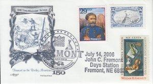 2006 USA John C. Fremont Days Pictorial Fremont NE Artmaster