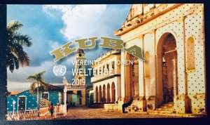 United Nations Vienna #654 Prestige Booklet - Cuba (2019). Full booklet. MNH