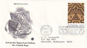 2004, American Indian Art-Ho-Chunk Bags, PCS, FDC (E12224)