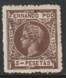 Fernando Po Sc 148 MH control no A000,000