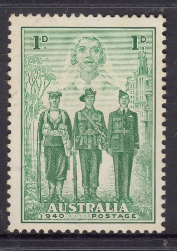 AUSTRALIA 1940 1d AIF Mint Never Hinged.