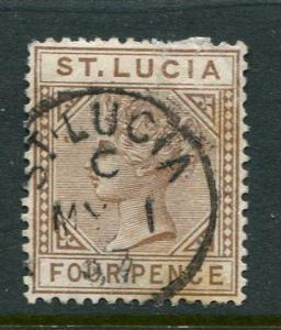 St Lucia #33 Used Accepting Best Offer