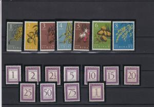 Suriname Mint Never Hinged Stamps Ref 24360