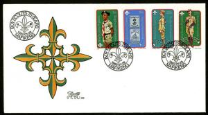 Bophuthatswana– 1982 75th Anniversary of the Scouting FDC