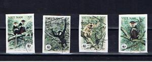 VIETNAM 1987 MONKEYS IMPERF