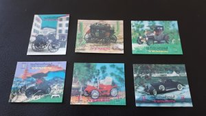 Cars - Old - Yemen - 6x 3D ** MNH