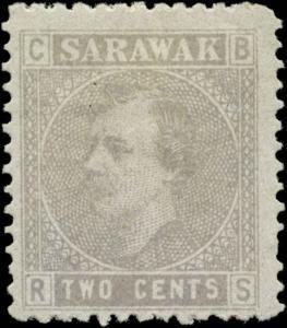Sarawak Scott #3 Mint