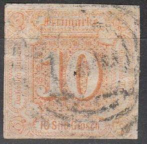 Thurn & Taxis #14 Used CV $875.00 (A16114)