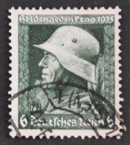 DYNAMITE Stamps: Germany Scott #452 – USED
