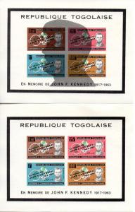 Togo C41X MNH footnoted