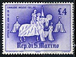 San Marino; 1963: Sc. # 557: *+/MLH Single Stamp