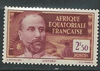 French Equatorial Africa  + Scott # 68 - MH