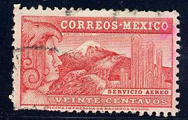 Mexico Scott # C68a, used
