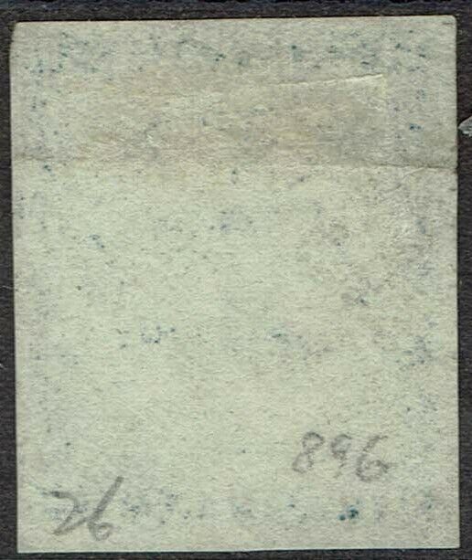 NEW SOUTH WALES 1850 SYDNEY VIEW 2D EARLY PLATE II USED