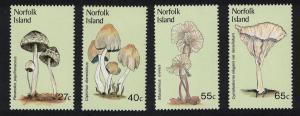 Norfolk Fungi 4v SG#300-303 SC#306-309