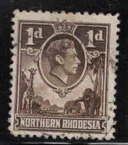Northern Rhodesia Scott 27 Used stamp